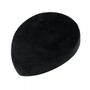 Casquete Lágrima Terciopelo negro