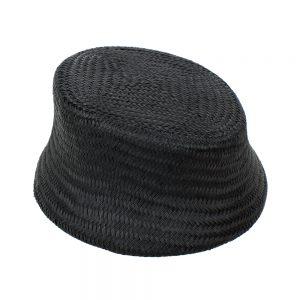 Casquete París Buntal negro II