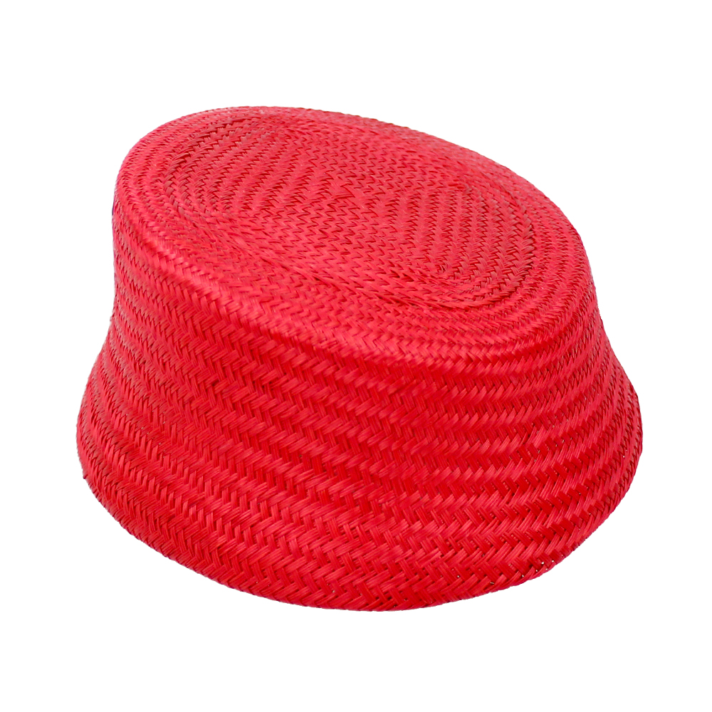 Casquete París Buntal rojo