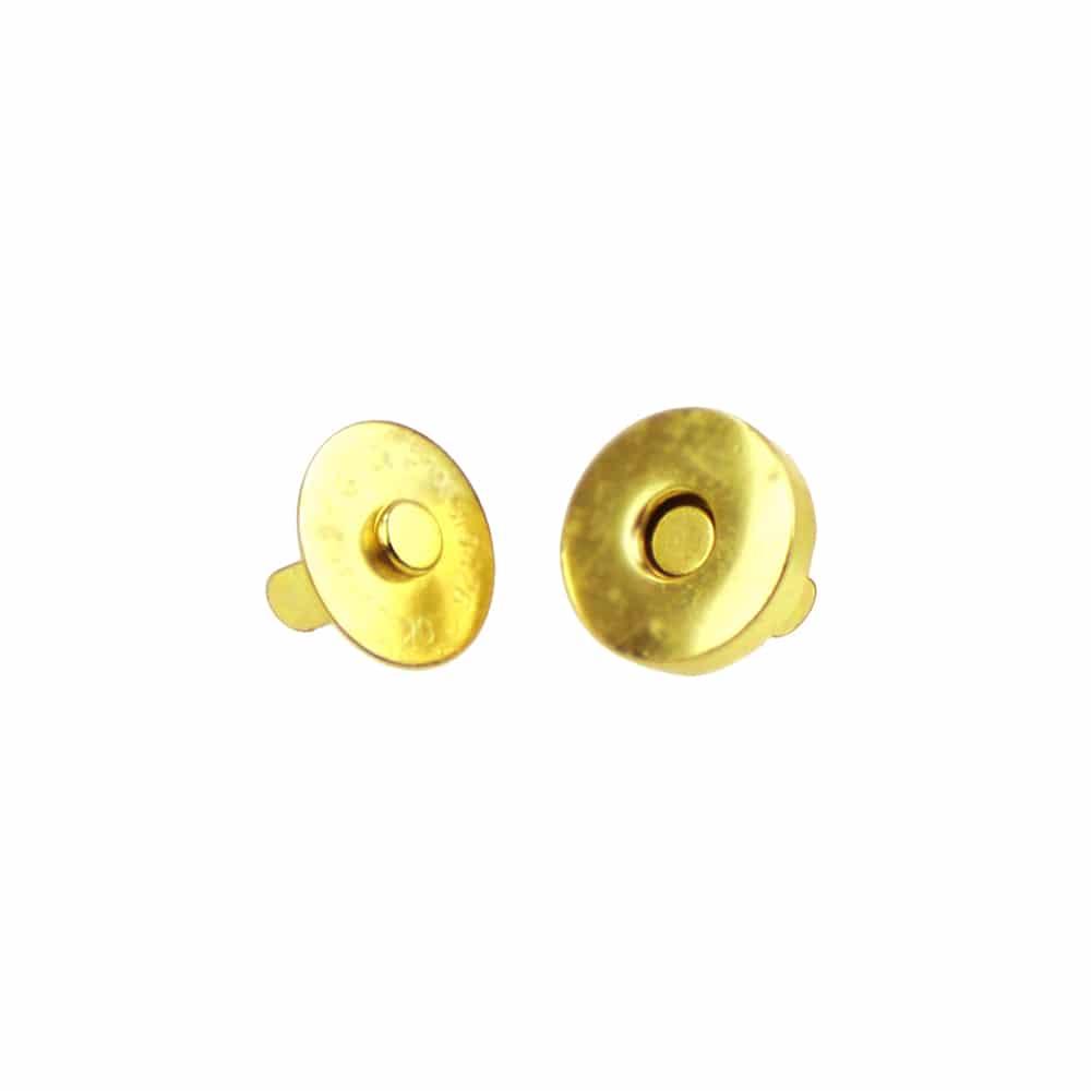 Cierre magnético bolso oro
