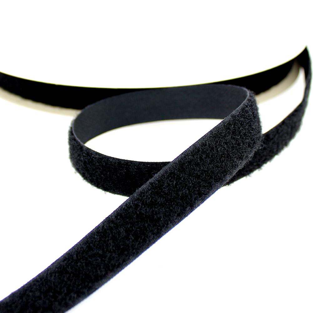 Cinta Velcro trabilla negro