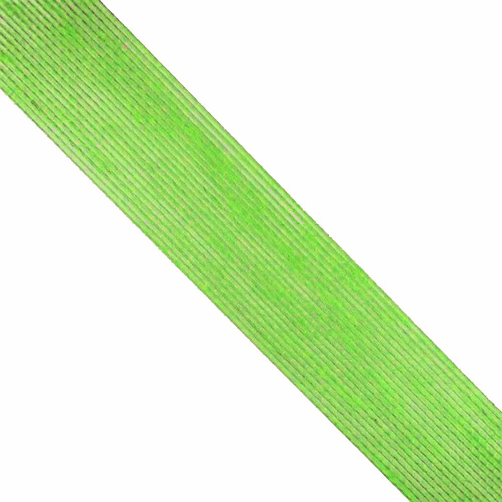 Cinta de Yute 4 cm verde jungla