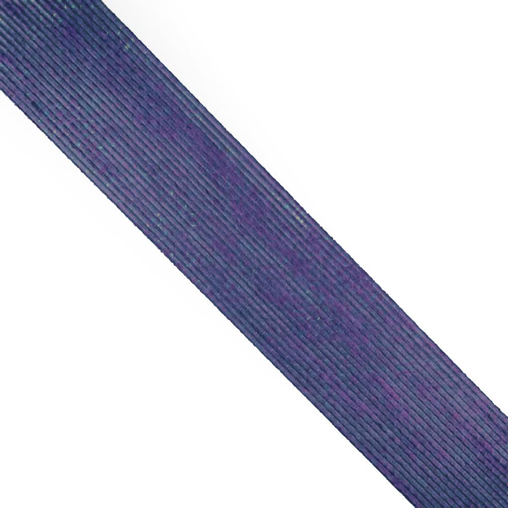 Cinta de Yute 6 cm azul marino