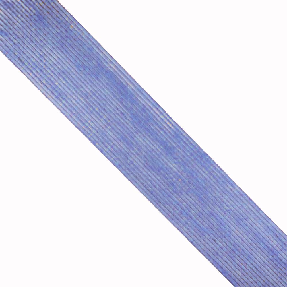Cinta de Yute 6 cm azul medio