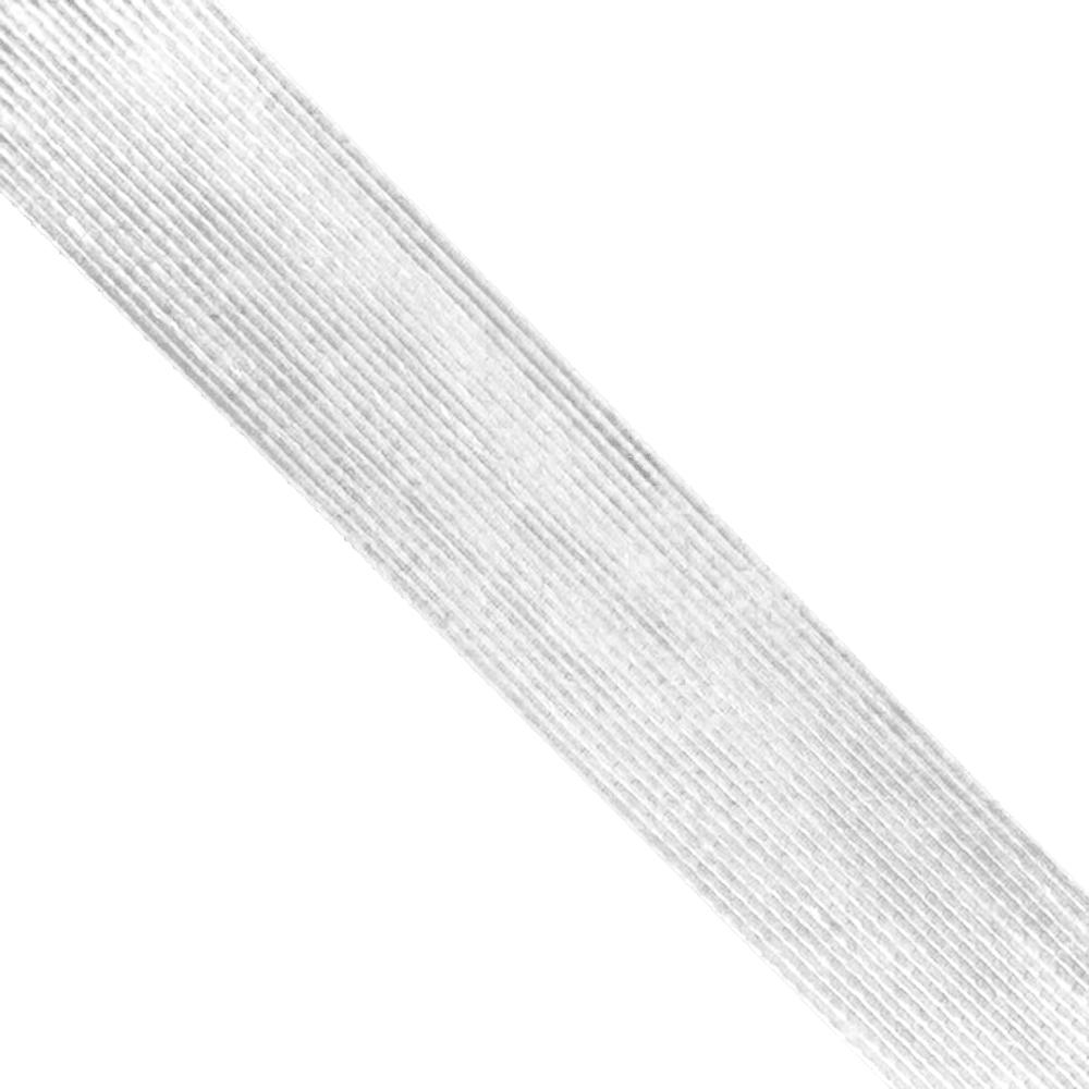 Cinta de Yute 6 cm blanco