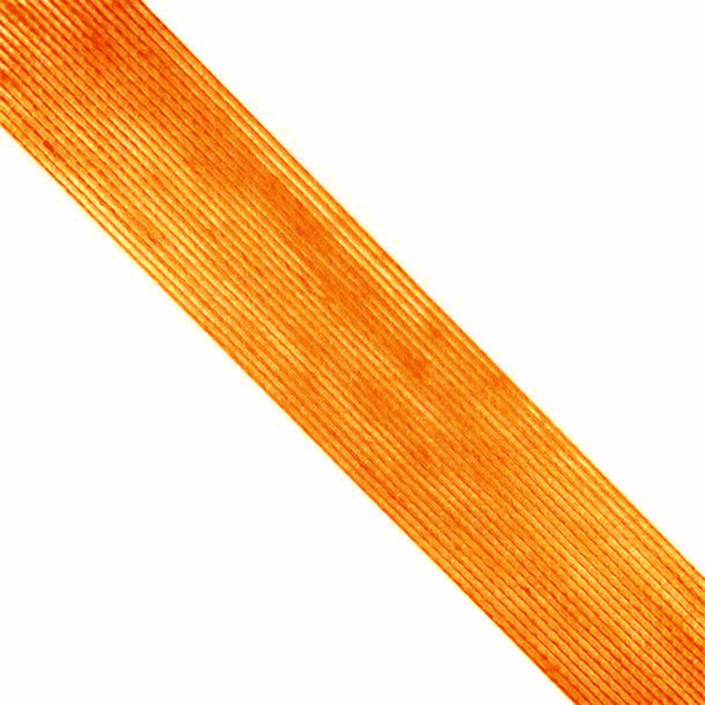 Cinta de Yute 6 cm naranja