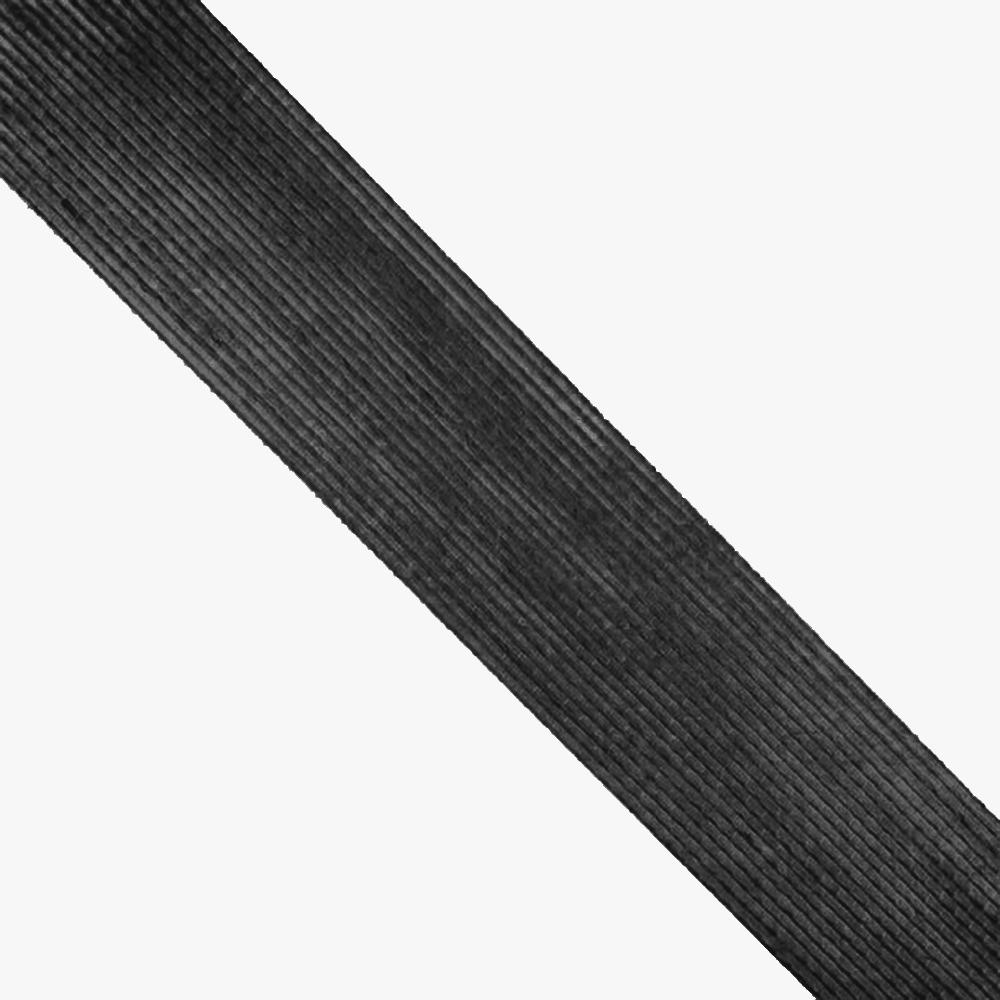 Cinta de Yute 6 cm negro
