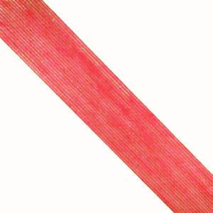 Cinta de Yute 4 cm rojo