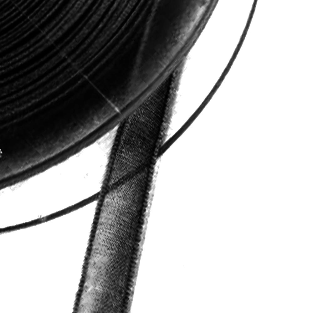Cinta organdí 7 mm negro