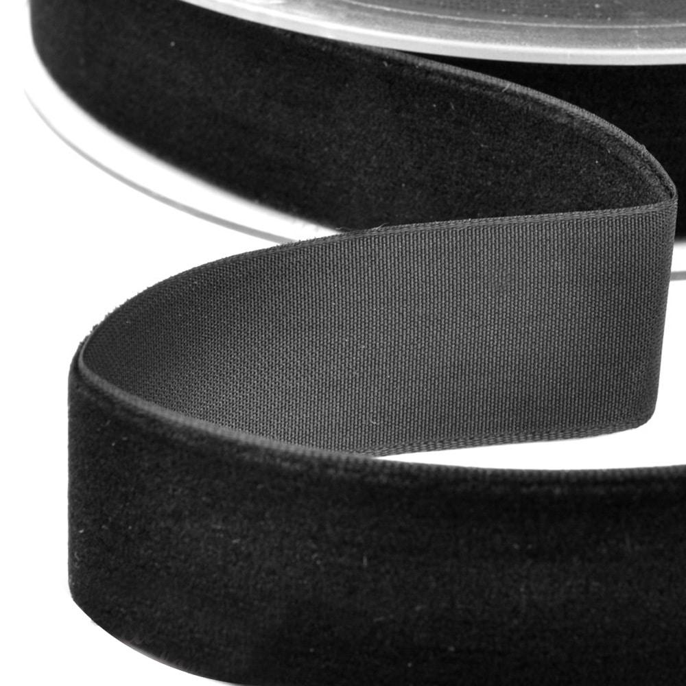 Cinta terciopelo 38 mm negro