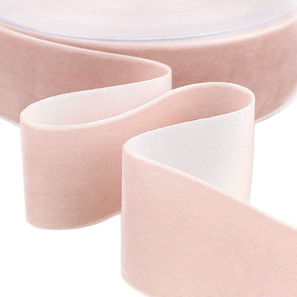 Cinta terciopelo 38 mm rosa nude