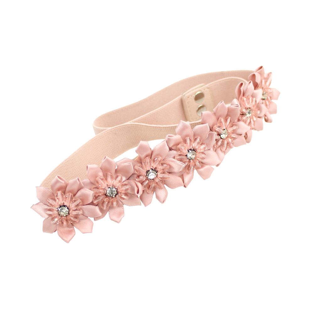 Cinturón Star rosa nude
