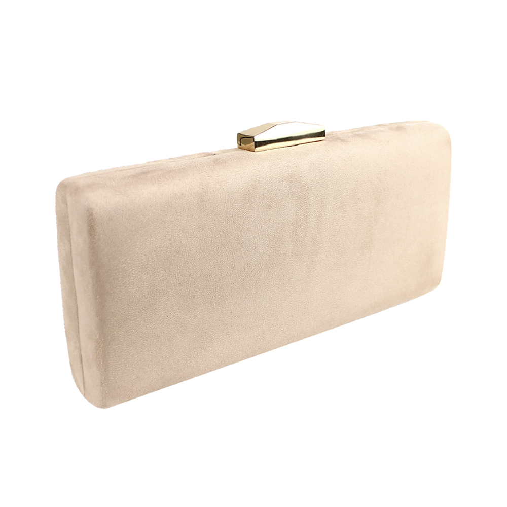 Clutch extralargo BEIGE