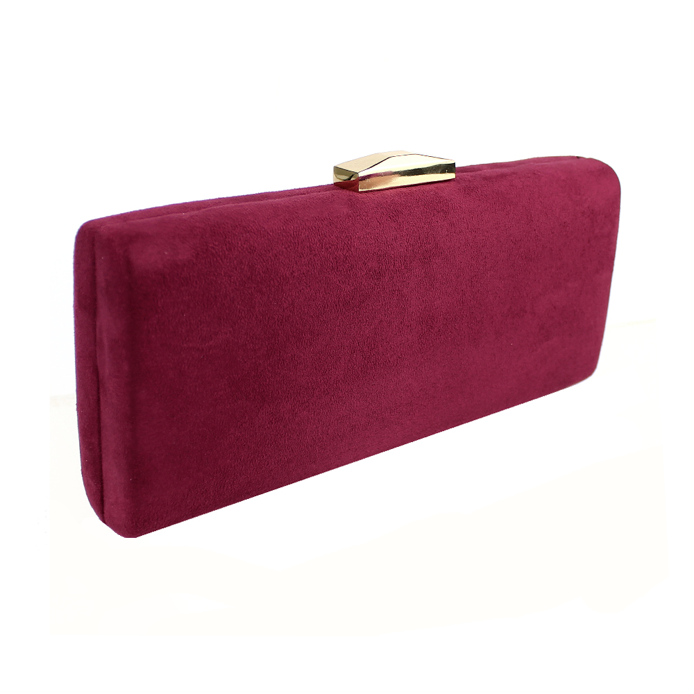 Clutch extralargo GRANATE