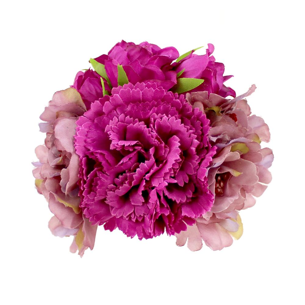 Conjunto Floral Púrpura buganvilla