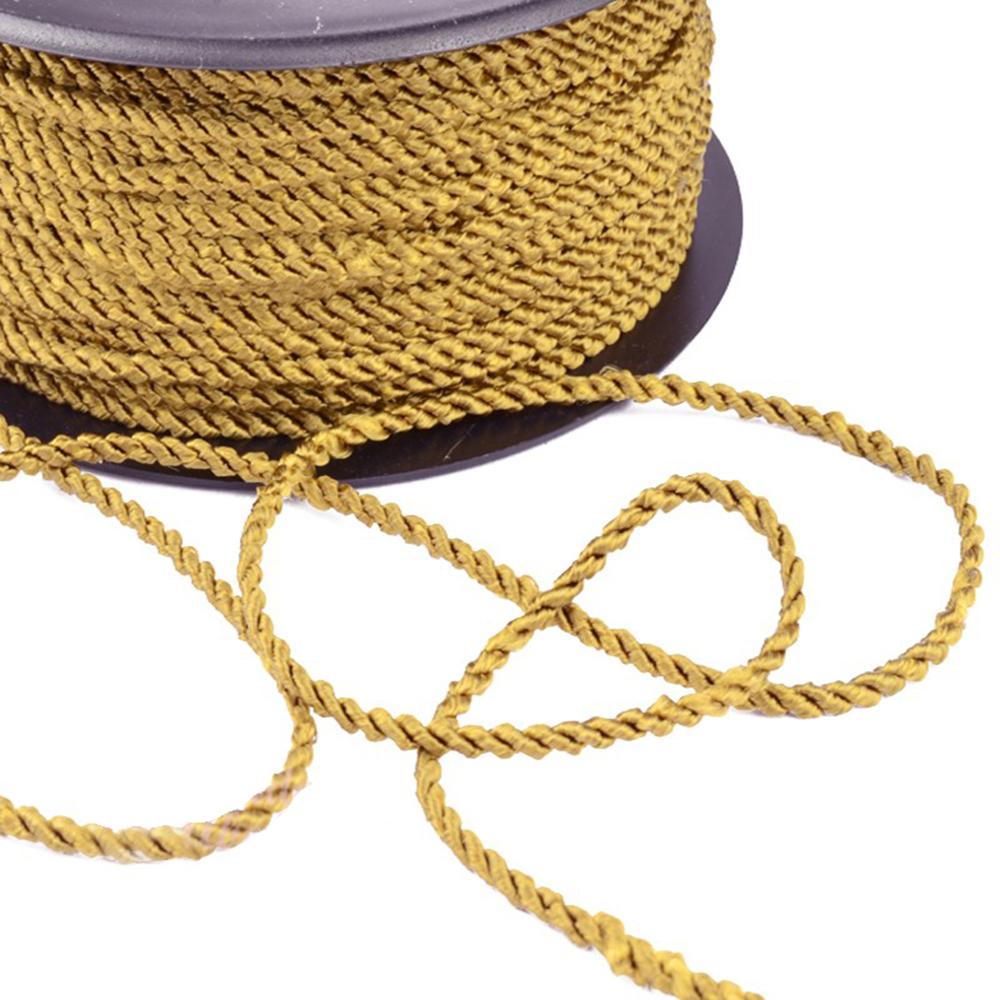 Cordón trenzado 0 3 oro