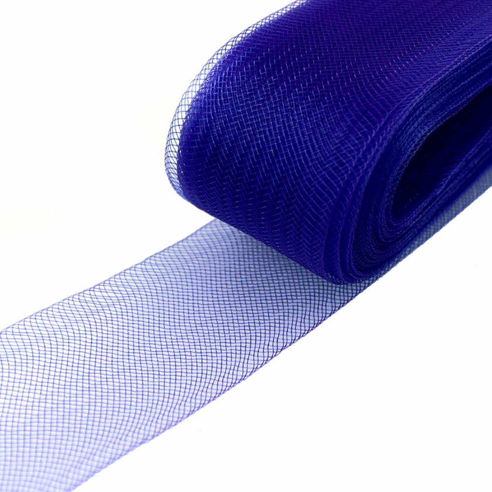Crin 4 cm azul medio