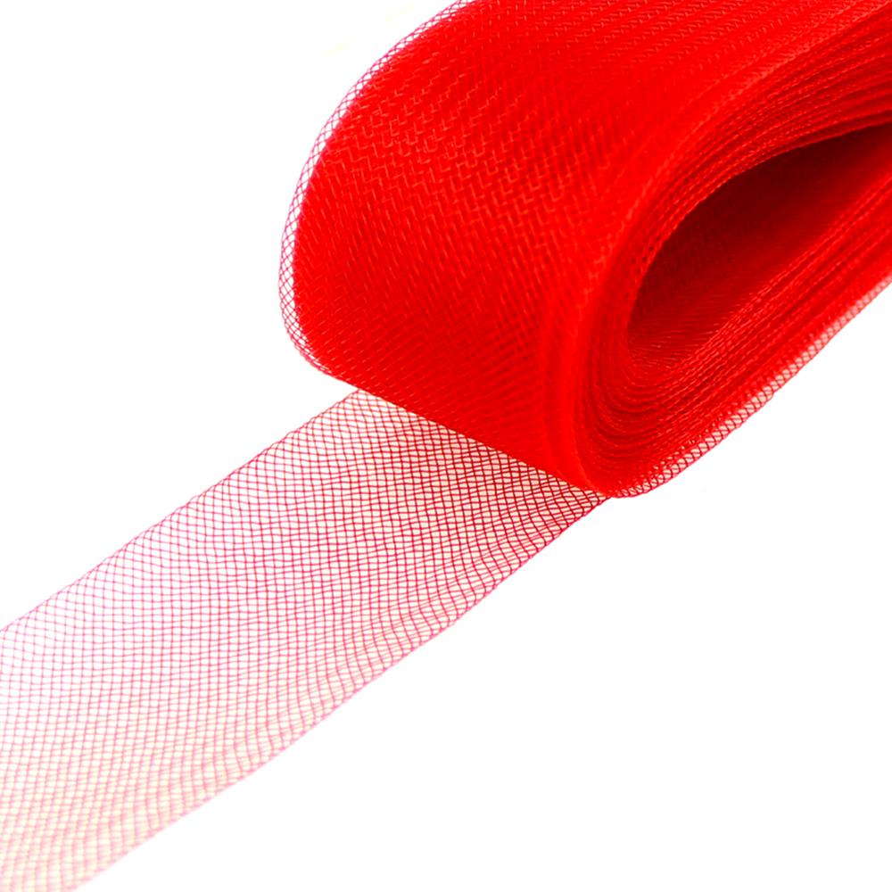 Crin 4 cm rojo