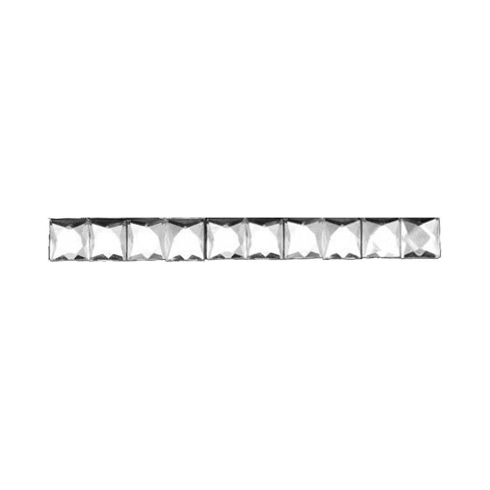 Cristal Transparente 1×1 cm 1 cm