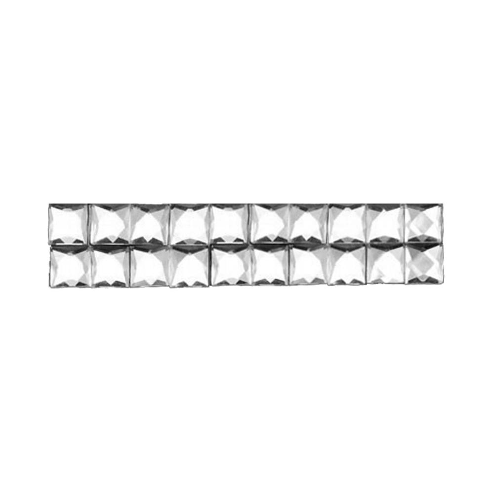 Cristal Transparente 1×1 cm 2 cm