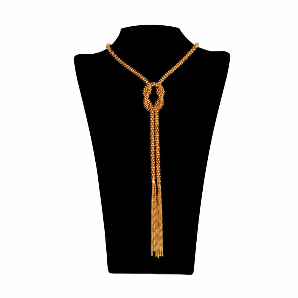 Cuello Cadena Cornamusa oro