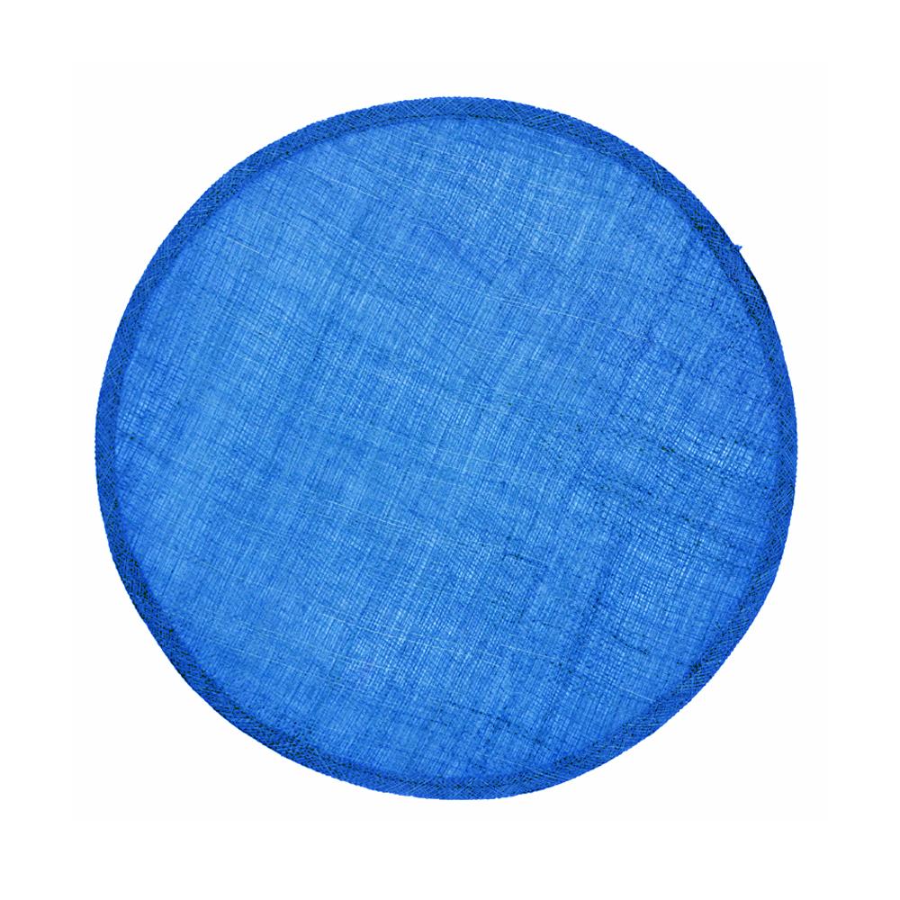 Disco Pamela Sinamay 34 CM azul klein