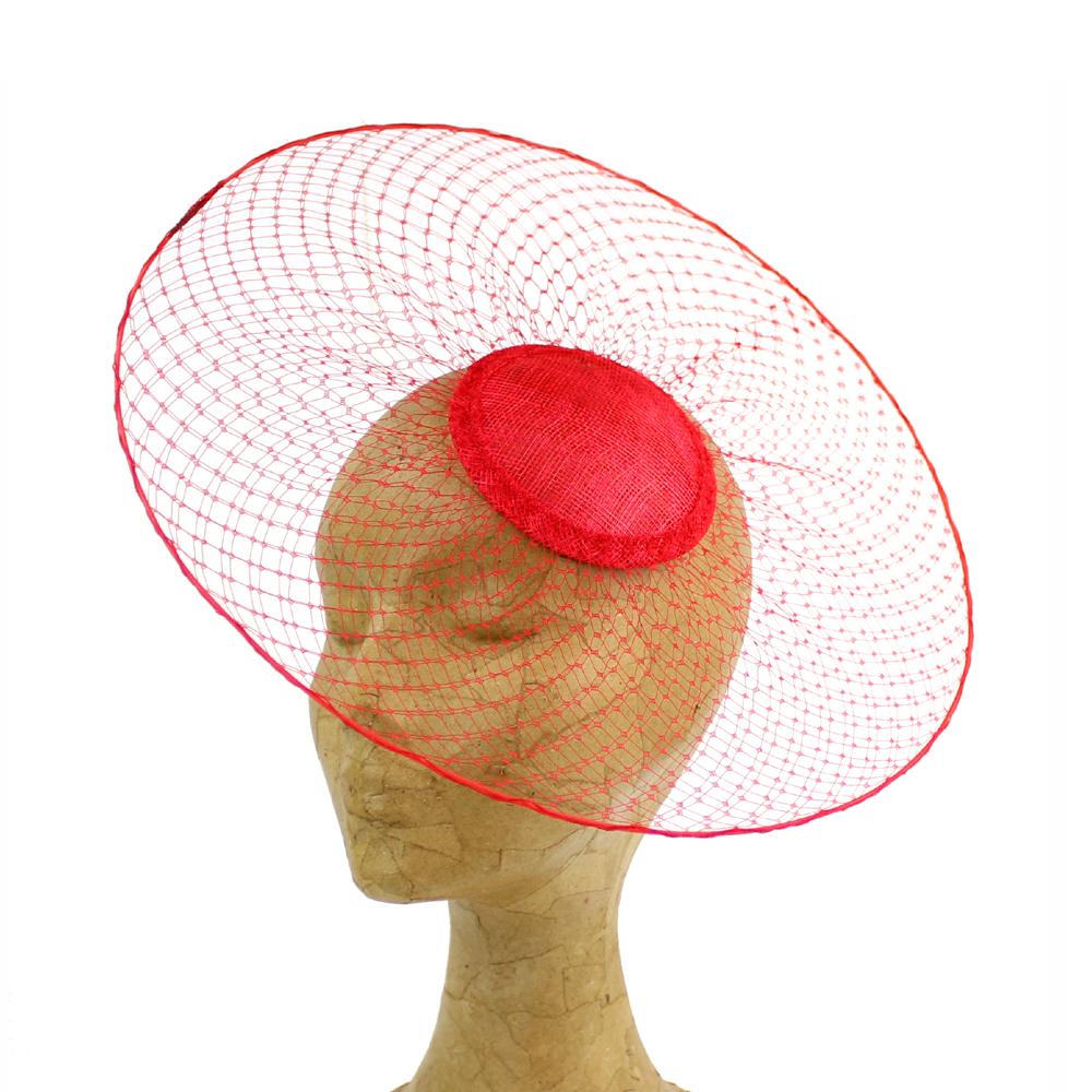 Disco de velo 30 cm rojo