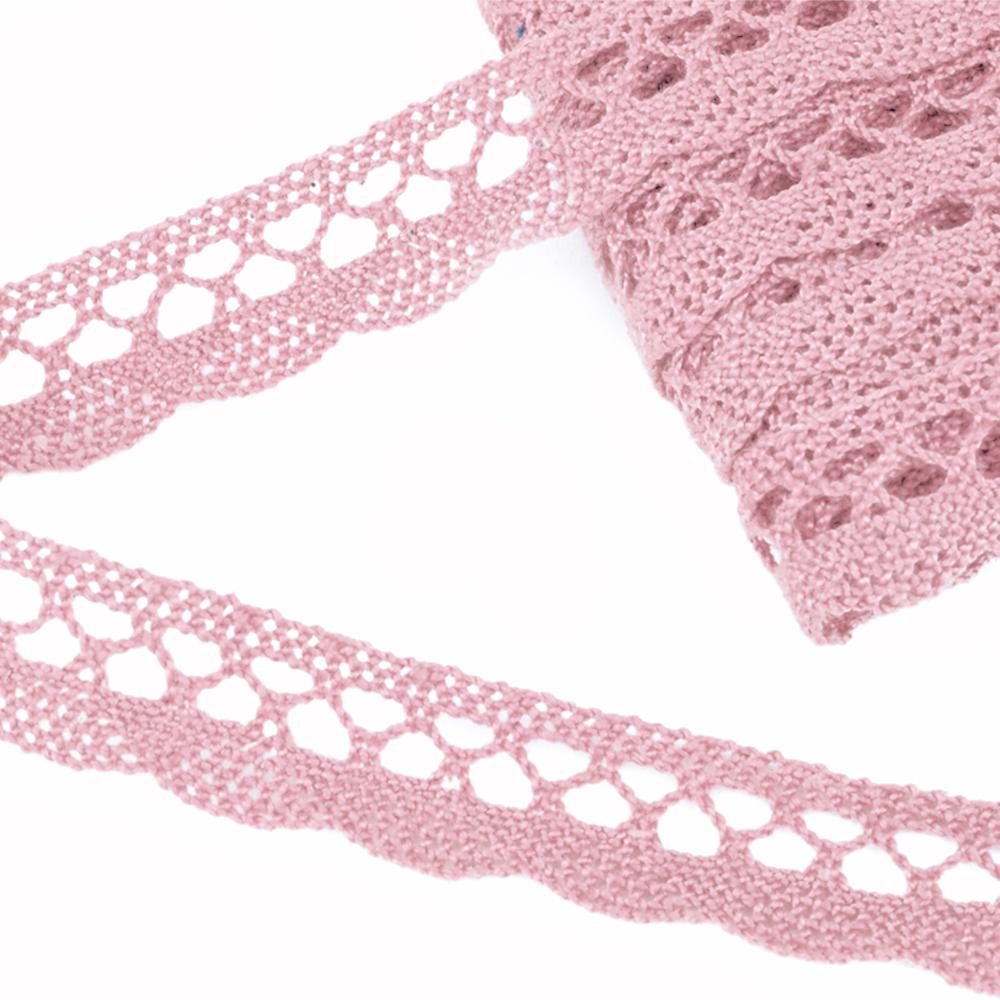 Encaje 18 mm rosa palo