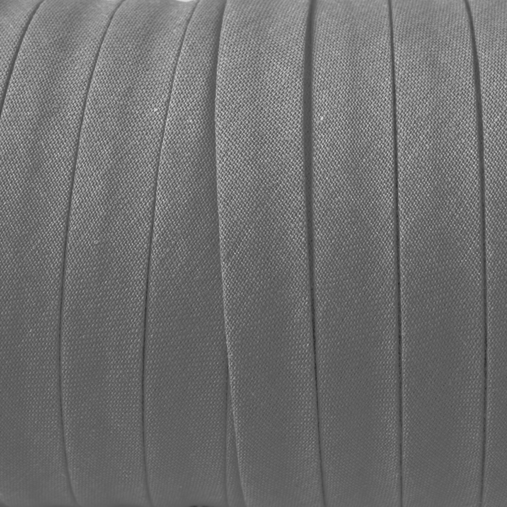 Espagueti algodón 10mm gris medio