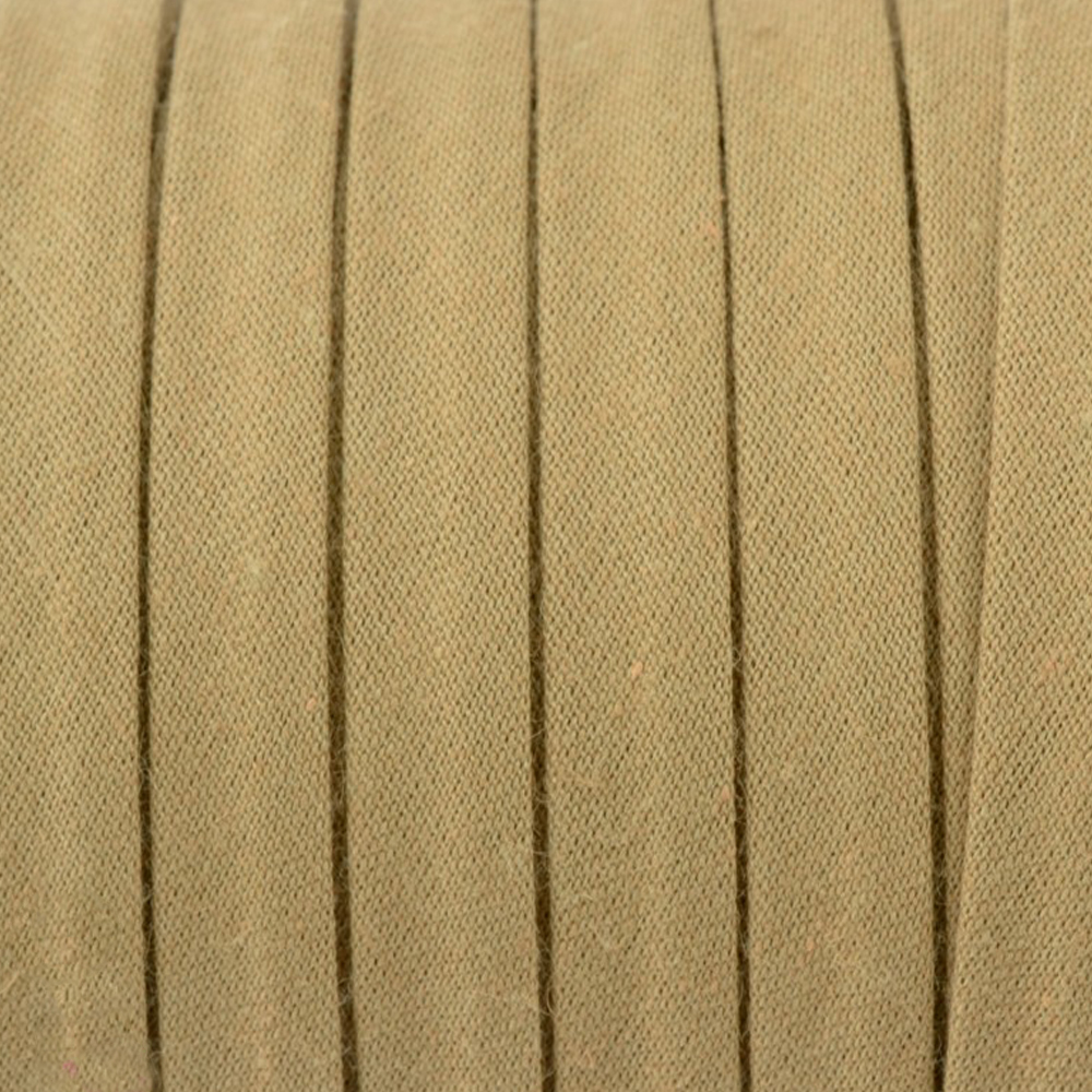 Espagueti algodón 10mm marrón claro
