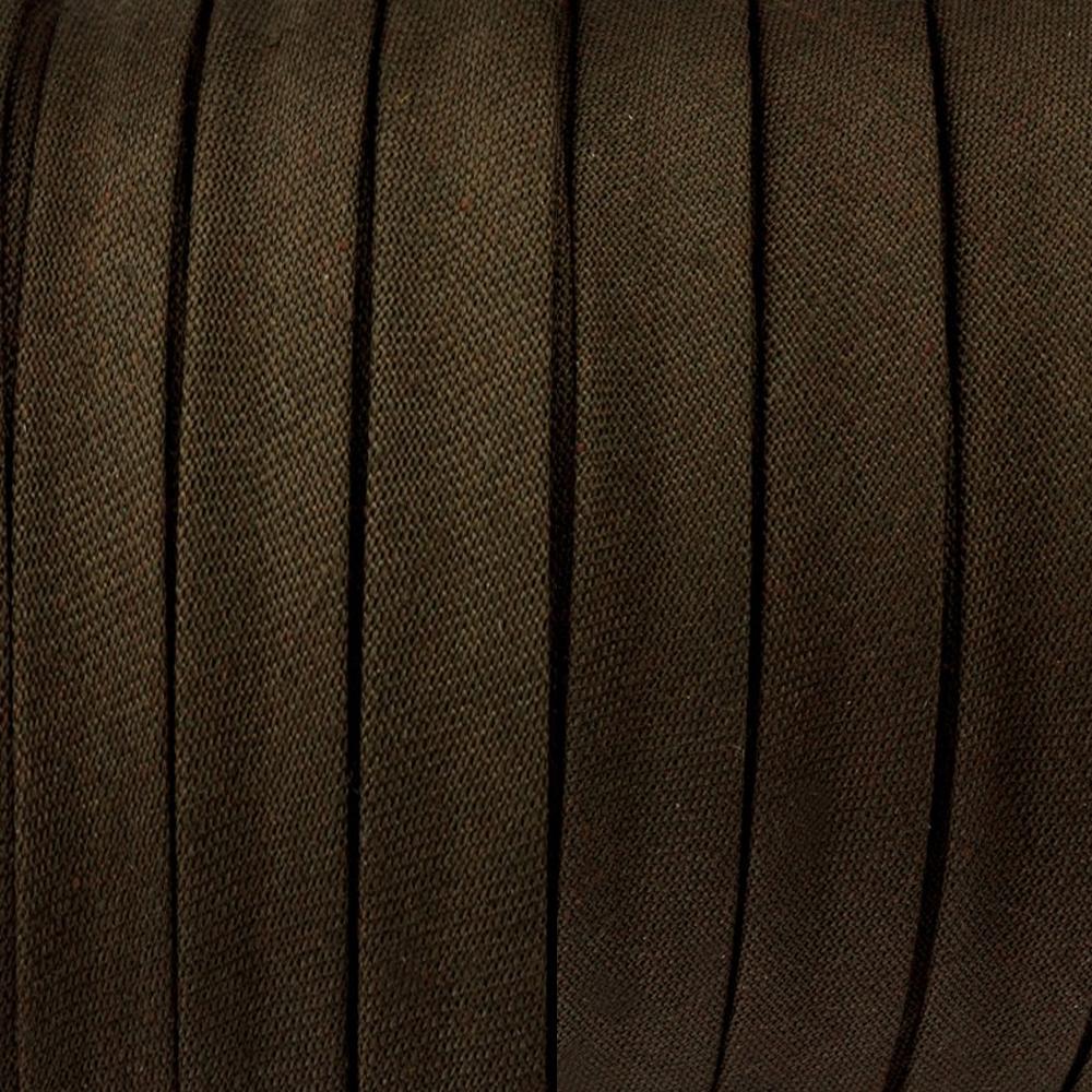 Espagueti algodón 10mm marrón oscuro