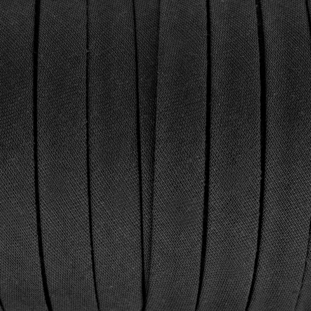 Espagueti algodón 10mm negro