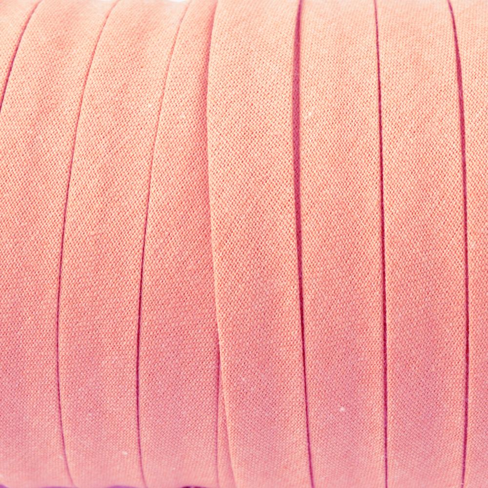 Espagueti algodón 10mm rosa palo