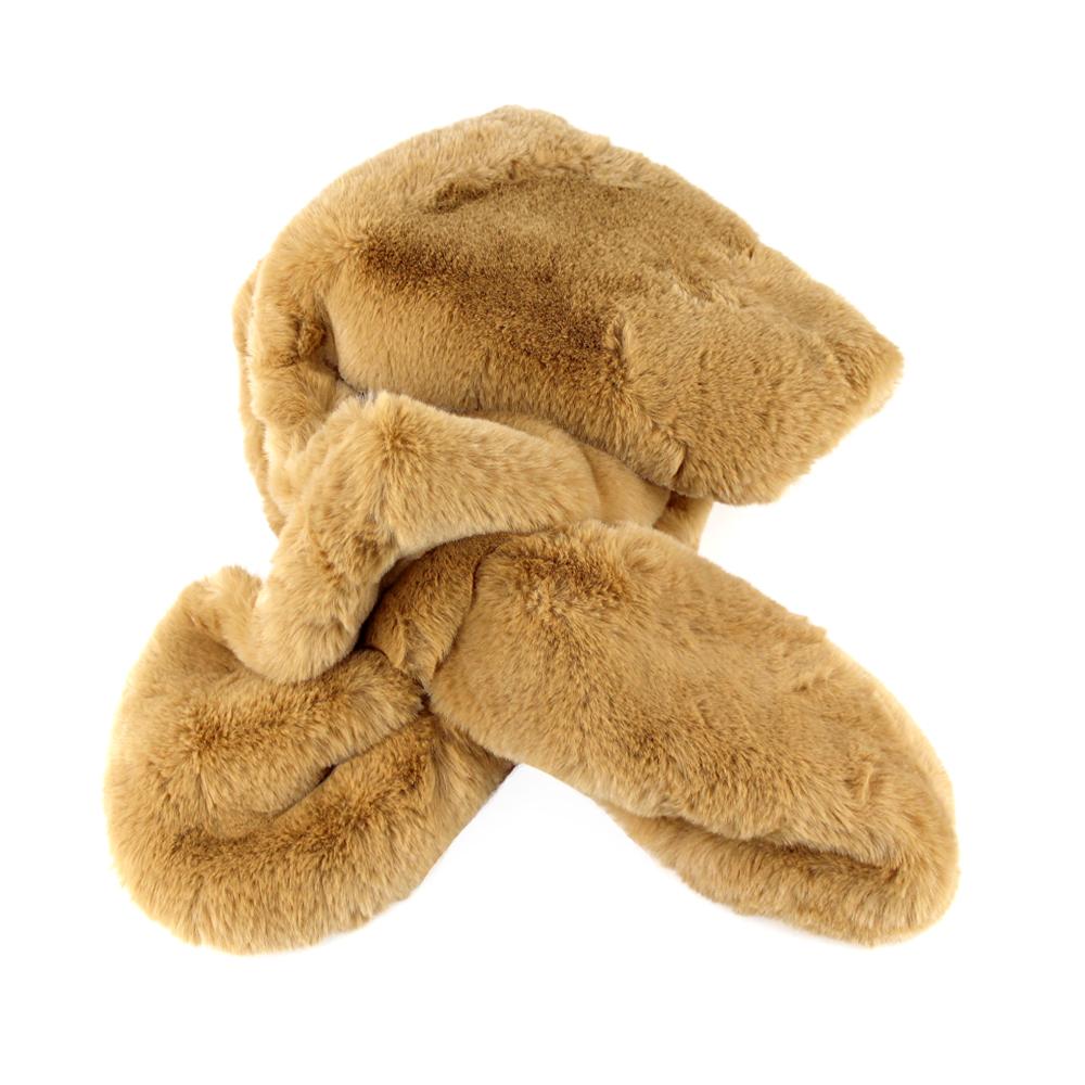 Estola de pelo camel