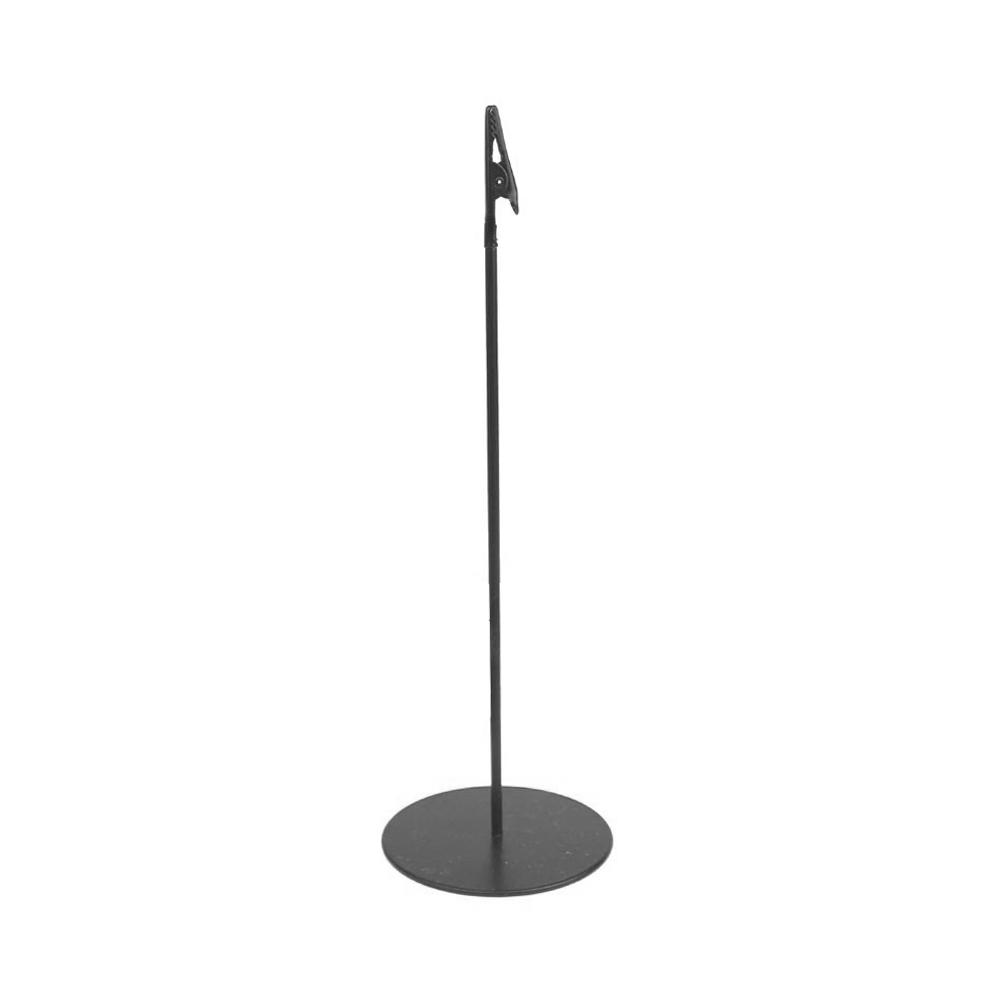 Expositor metálico 30 cm negro