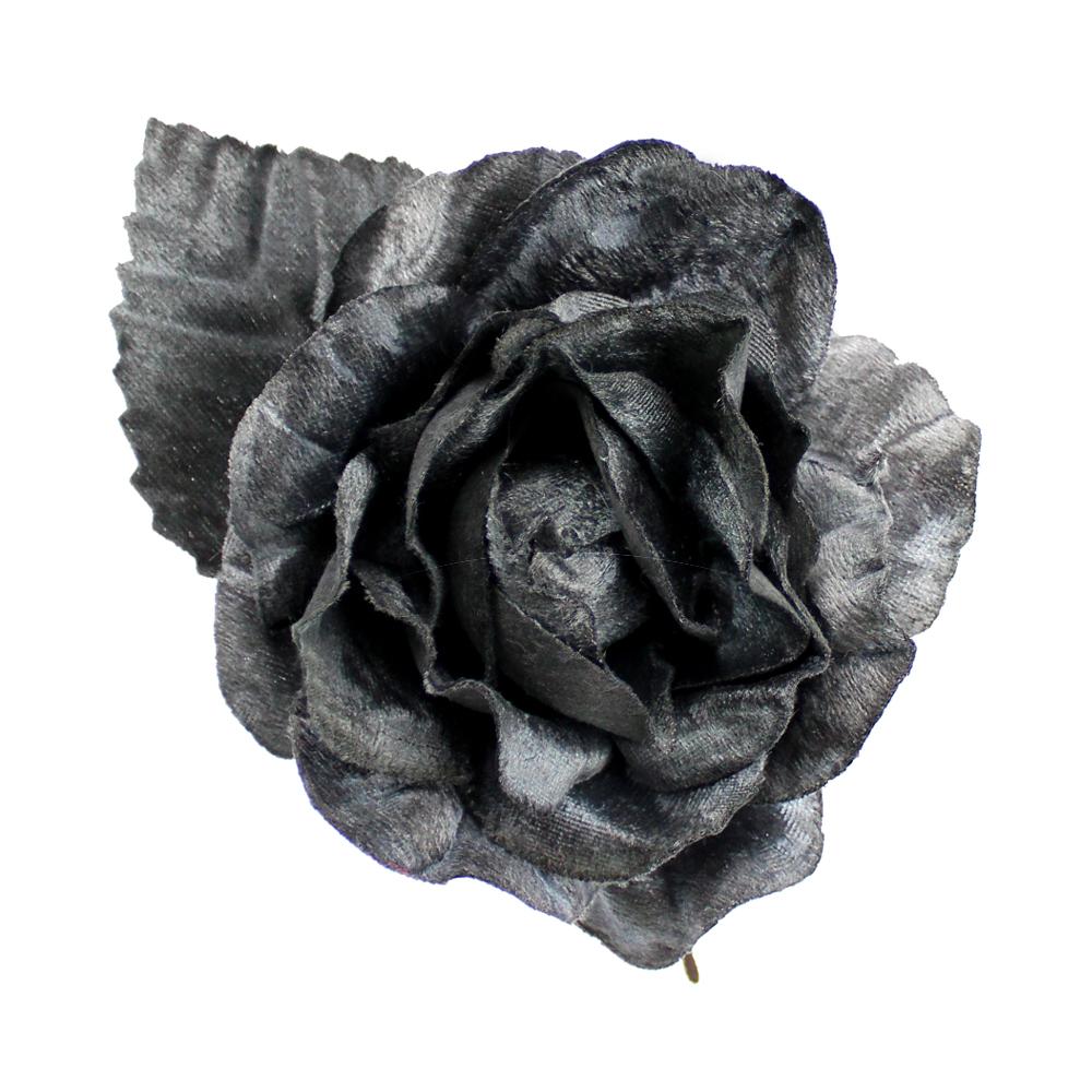 FLOR CATHIE gris oscuro