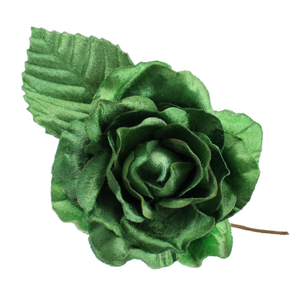 FLOR CATHIE verde medio