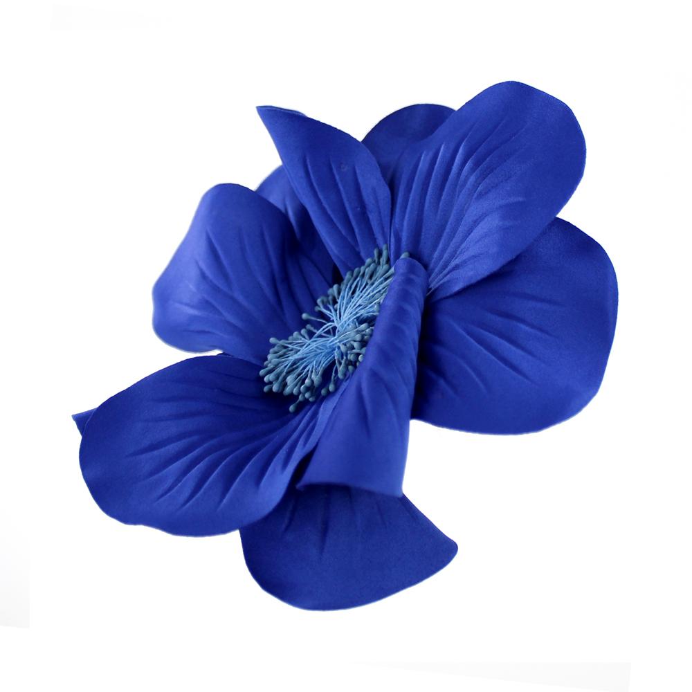 FLOR EVANSI azul klein 2
