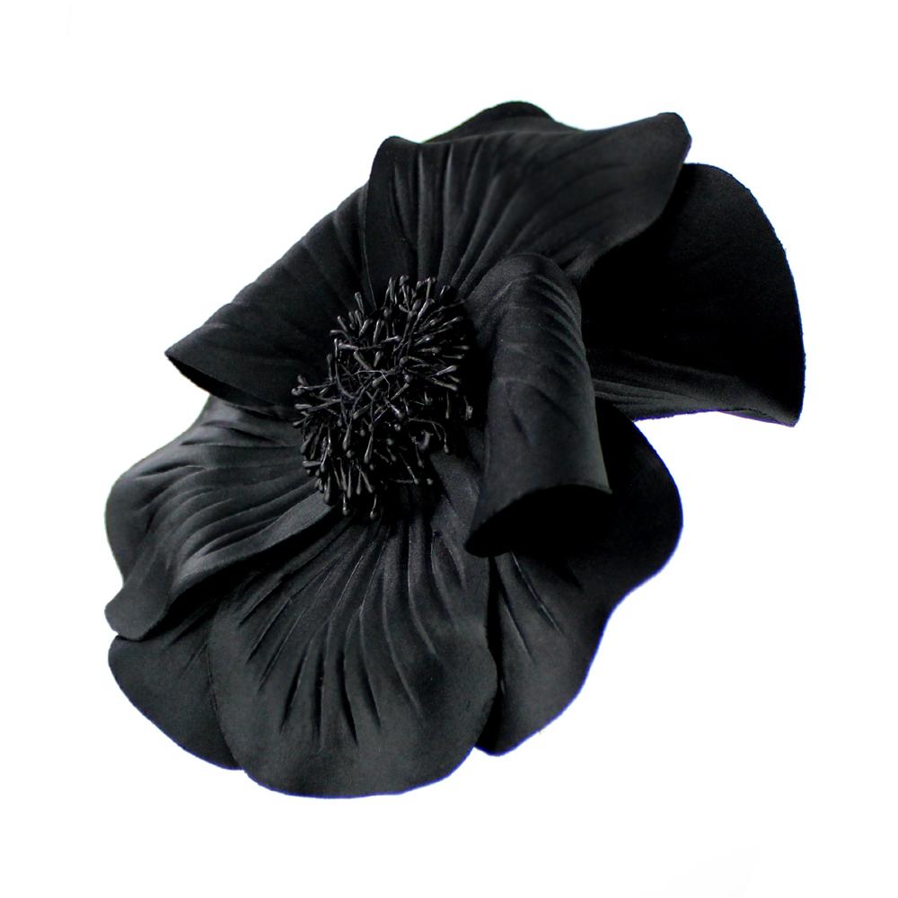 FLOR EVANSI negro