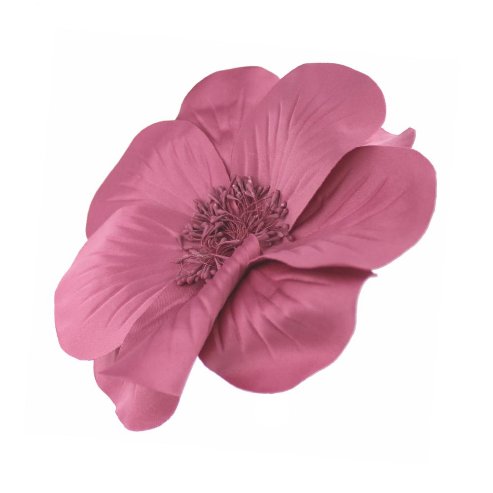 FLOR EVANSI rosa maquillaje