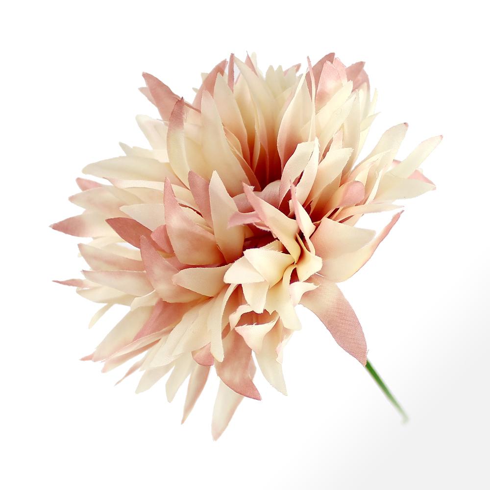 FLOR KUDÚ crudo y rosa