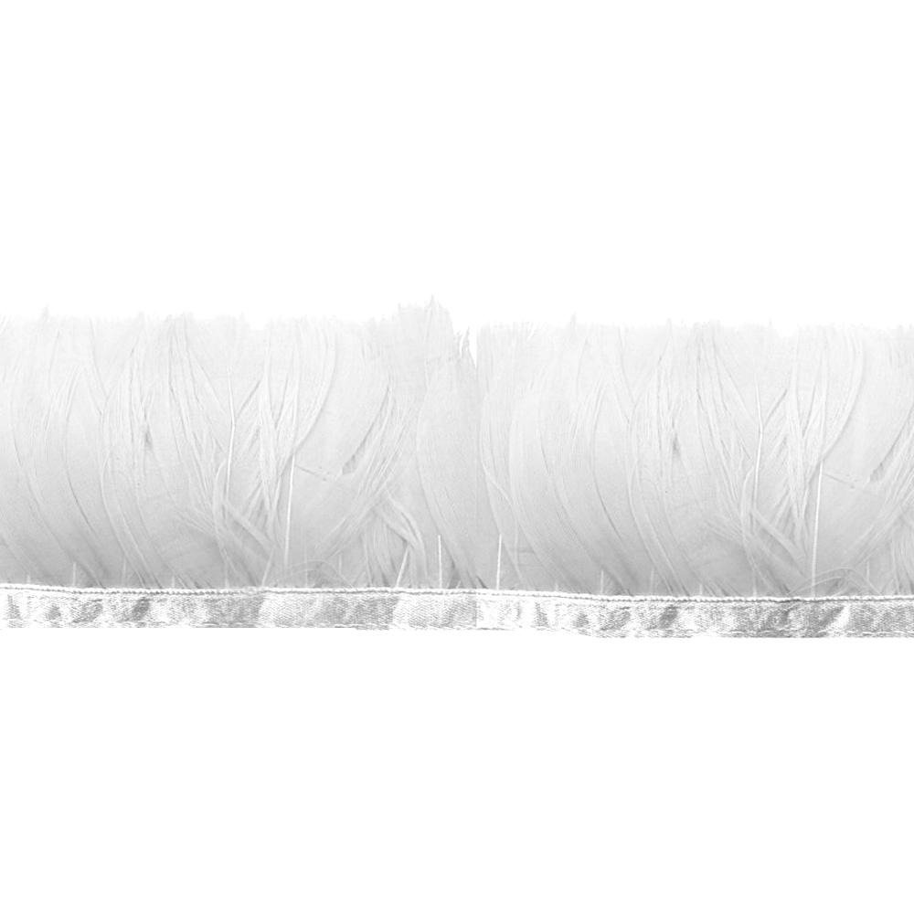 Fleco Pluma de Pato 5-6 CM blanco