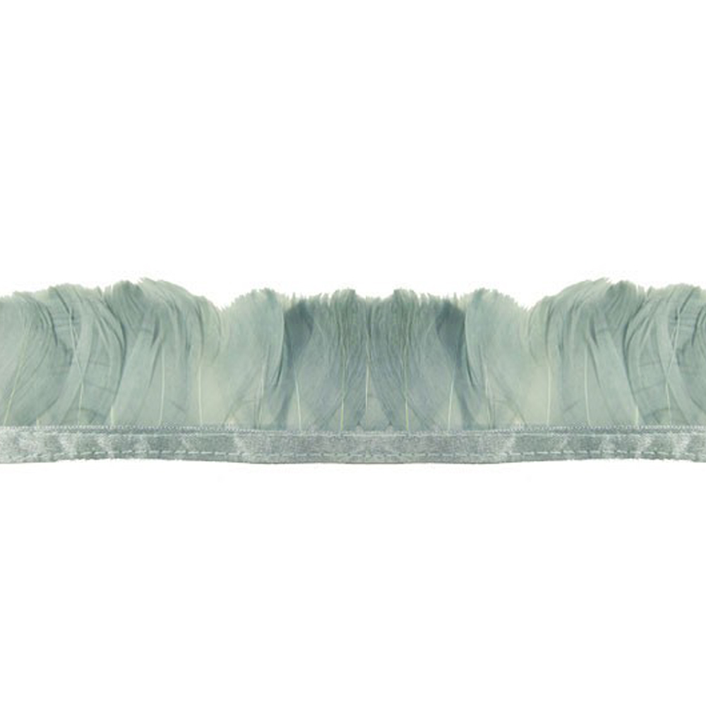 Fleco Pluma de Pato 5-6 CM gris
