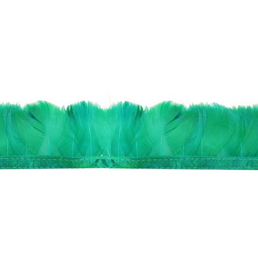 Fleco Pluma de Pato 5-6 CM jade