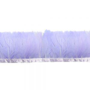 Fleco Pluma de Pato 5-6 CM lila
