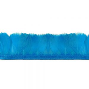 Fleco Pluma de Pato 5-6 CM turquesa
