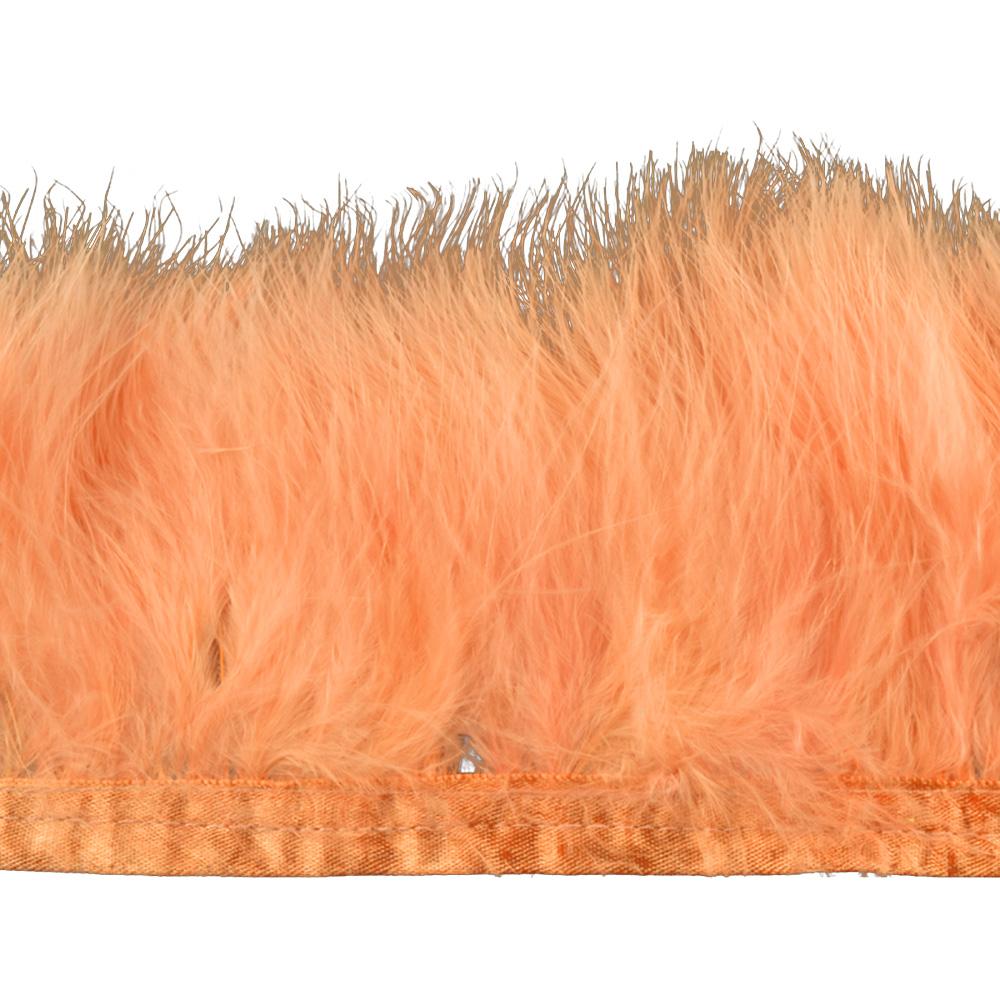 Fleco de marabú 8-10 CM salmón