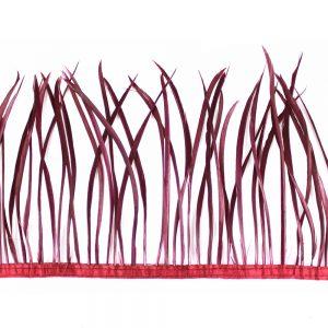 Fleco de plumas de oca vino