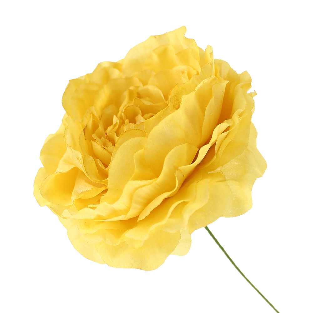 Flor Ana 9 cm amarillo