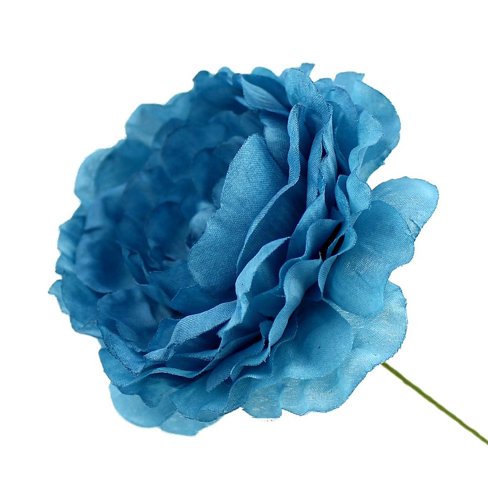 Flor Ana 9 cm azul oxford